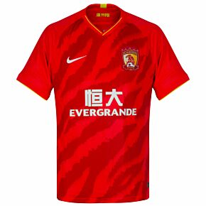 2020 Guangzhou Evergrande HomeShirt