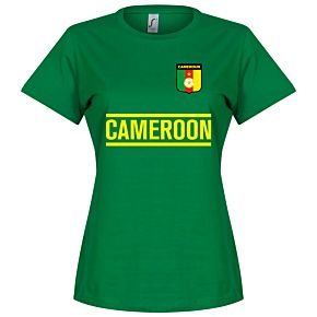 Cameroon Team Womens Tee - Green