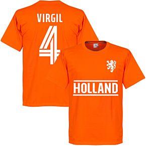 Holland Virgil Team T-Shirt - Orange