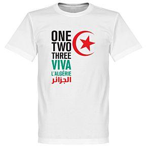 Viva L'Algerie Tee - White