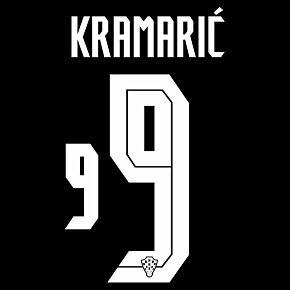 Kramarić 9 (Official Printing) - 20-21 Croatia Away