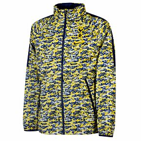 20-21 Tottenham AWF LTE CL Jacket - Yellow/Blue
