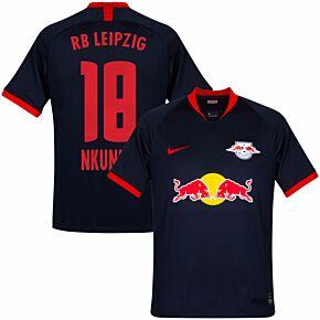 19-20 RB Leipzig Away Shirt + Nkunku 18