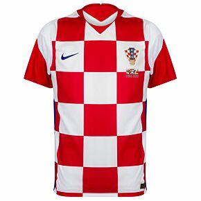 20-21 Croatia Home Shirt + 2020 Transfer