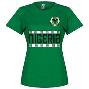 Nigeria Team Womens Tee - Green