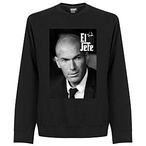 Zidane El Jefe Sweatshirt - Black