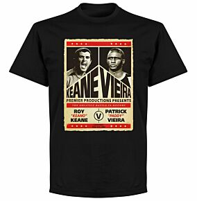Keane v Viera Battle T-shirt - Black