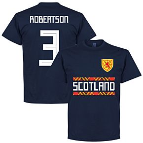 Scotland Robertson 3 Team Tee - Navy