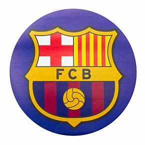 Barcelona Big Crest Circular Sticker (Approx 18cm x 18cm)