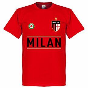AC Milan Team Tee - Red