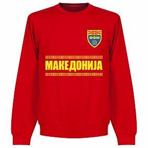 Macedonia Team KIDS Sweatshirt - Red