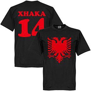 Albania Eage Xhaka 14 Tee - Black