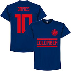 Colombia James 10 Team Tee - Ultra