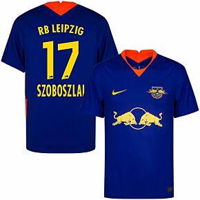 20-21 RB Leipzig Away Shirt + Szoboszlai 17 (Official Printing)