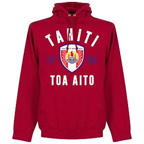Tahiti Eastablished Hoodie - Red