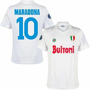 87-88 Napoli Away Retro Maradona 10 Shirt