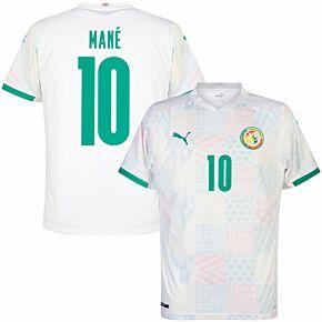 20-21 Senegal Home Shirt + Mane 10 (Official Printing)