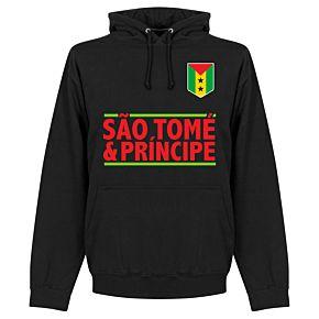 São Tomé and Príncipe Team Hoodie - Black