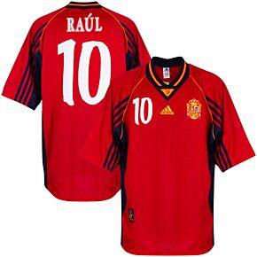adidas Spain 1998-1999 Home Raúl 7 Shirt NEW (w/tags) - Size XL