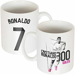 Ronaldo Record 300 Goals Mug