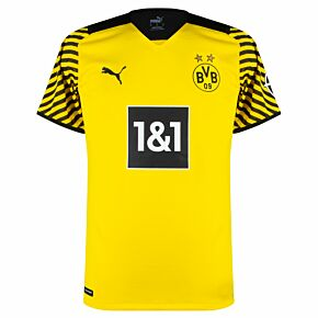 21-22 Borussia Dortmund Authentic Home Shirt