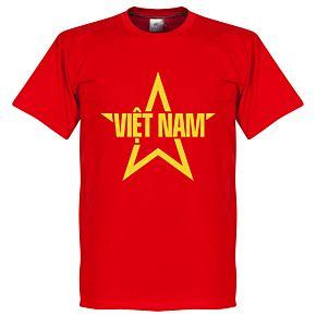 Vietnam Star Tee - Red