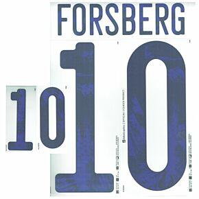 Forsberg 10 - 20-21 Sweden Home Official