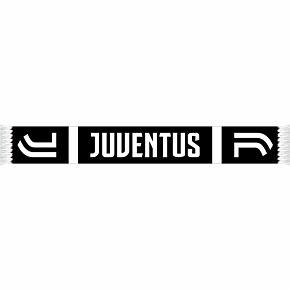 Juventus Home Scarf - Black/White