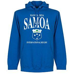 Samoa Rugby Hoodie - Royal