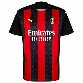 20-21 AC Milan Home Shirt - Kids