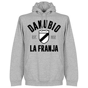 Danubio Established Hoodie - Grey Heather