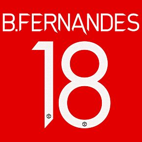B. Fernandes 18 (Official Cup Printing) - 20-22 Man Utd Home