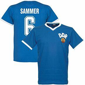 1974 DDR WC Home Retro Shirt + Sammer 6