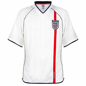 2002 England Home Retro Shirt