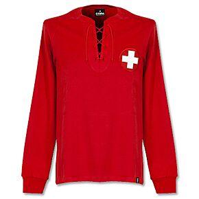 1954 WC Switzerland L/S Retro Shirt