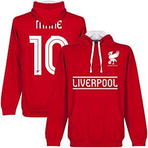 Liverpool Mane Team Hoodie - Red/White
