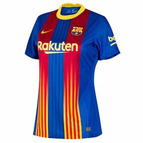 20-21 Barcelona Womens 4th Shirt