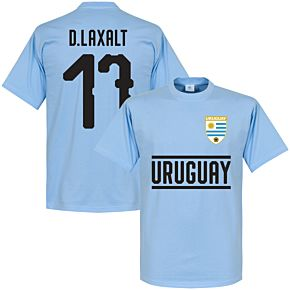 Uruguay Team D. Laxalt 17 Tee - Sky