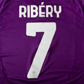 Ribéry 7 (Official Printing) - 20-21 Fiorentina Home