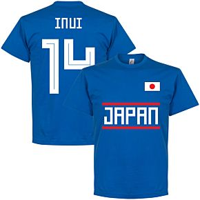 Japan Inui 14 Team Tee - Royal