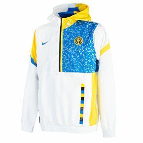 2021 Inter Milan Woven Track Jacket - White