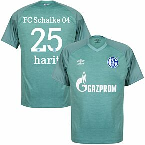20-21 Schalke 04 3rd Shirt + Harit 25 (Official Printing)