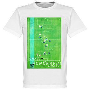 Pennarello Michael Owen 1998 Classic Goal Tee - White
