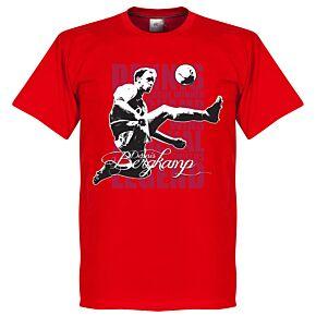 Bergkamp Legend KIDS Tee - Red