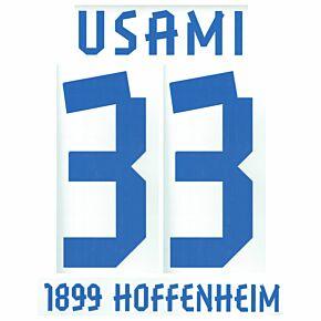 Usami 33 12-13 Hoffenheim Away