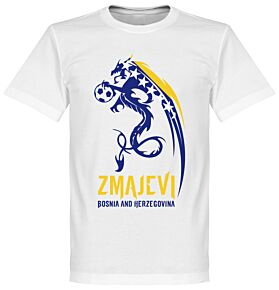 Bosnia Herzegovina Zmajevi Tee - White