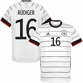 20-21 Germany Home KIDS Shirt + Rüdiger 16