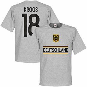 Germany Kroos 18 Team Tee - Grey
