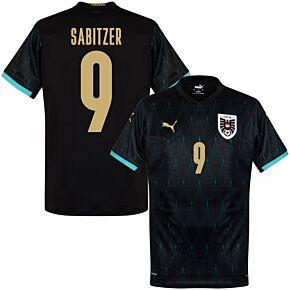 20-21 Austria Away Shirt + Sabitzer 9 (Fan Style Printing)