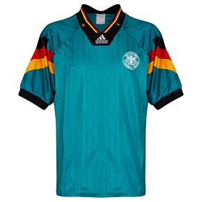 adidas Germany 1991-1992 Away Jersey - USED Condition (Great) - Size XL